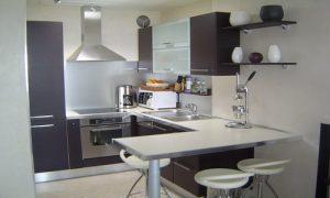 cuisine équipée pour un petit espace