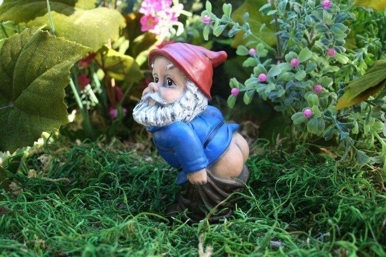 origine des nains de jardin