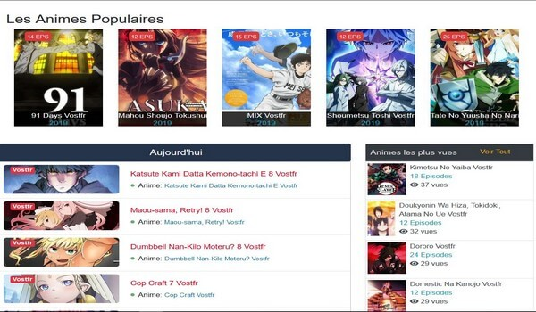 animes vostfr gtratuit en streaming
