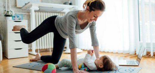 se muscler chez soi après l'accouchement