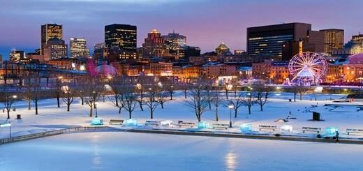 Montréal et ses activités en hiver