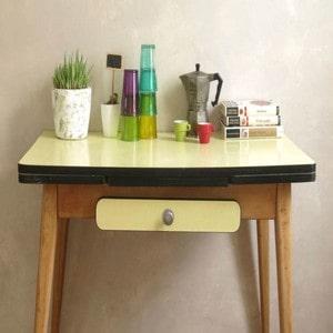 Décoration avec meuble vintage