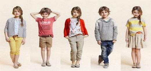 habits à la mode pour enfants
