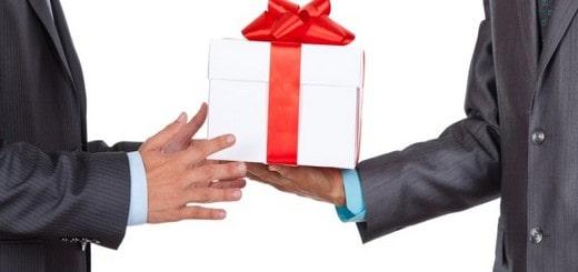 exemples cadeaux d'affaires