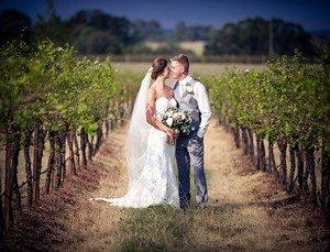 Faire un mariage dans des vignes