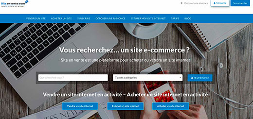 sites internet à vendre