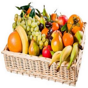 Les fruits dans un régime