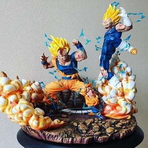 figurine dragon ball-z collection