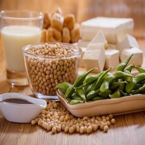 le soja dans un régime
