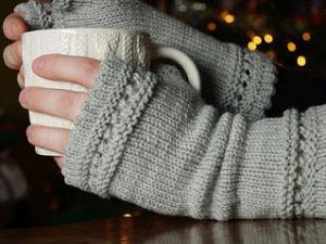 modèle tricot gant laine