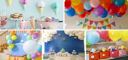 décoration anniversaire originale