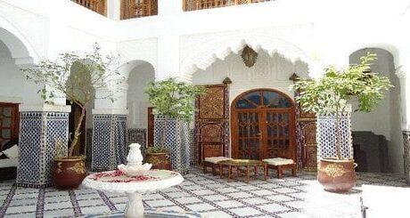 riad à vendre au Maroc