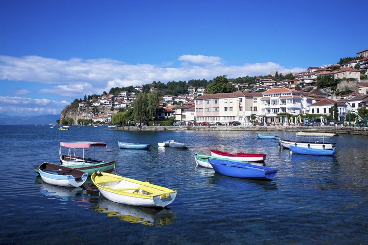 Lac d'Ohrid, Macédoine du Nord