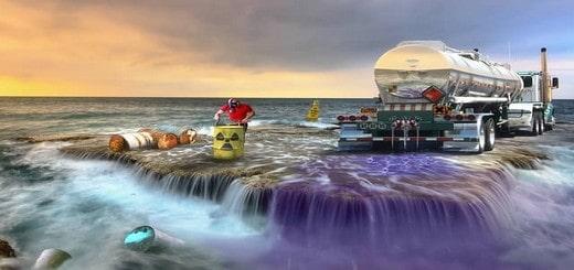 la pollution marine