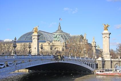 Grand Palais depuis la Seine