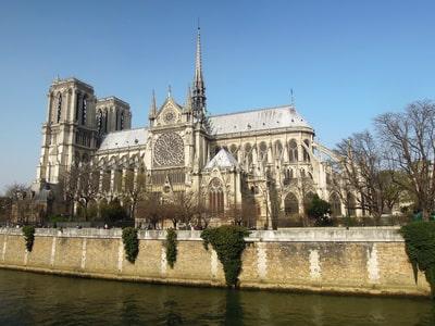 Ile de la Cité depuis la Seine