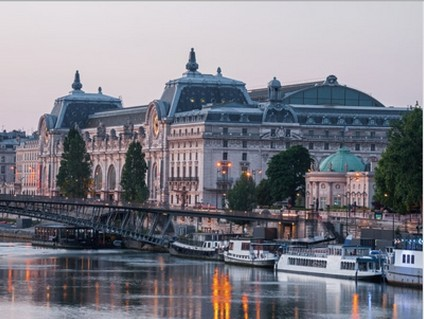 Musée d'Orsay depuis la Seine