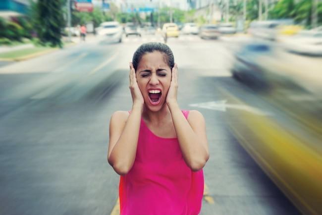 pollution sonore en ville