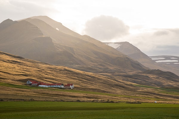 maisons colorées d'Akureyri